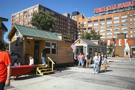 tiny house market tiny house mania to invade ponce city market with tours sustainable village curbed atlanta