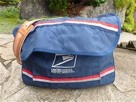 usps letter carrier mail bag satchel new stock with