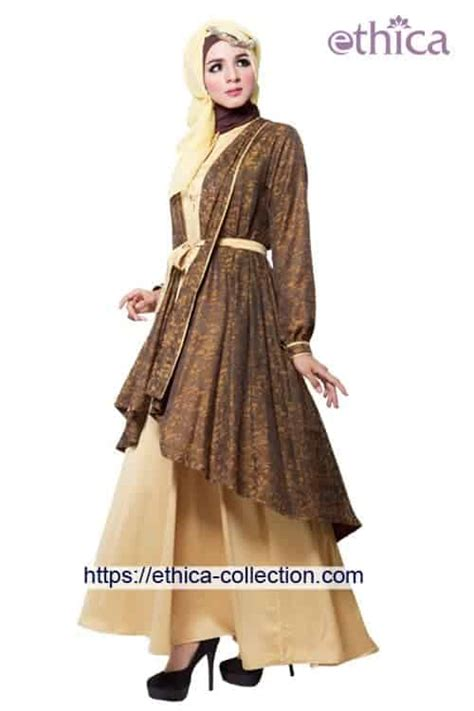 Gamis Pesta Ethica model baju pesta muslim terbaru 2016 ethica collection