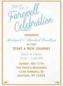25 best ideas about farewell invitation on