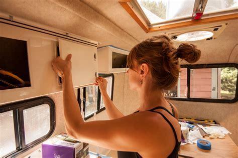 """Dirtbag Dwellings: Meet the """"Egg"""" ? A Renovated Scamp RV"""