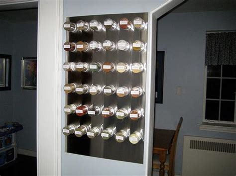 Furniture for Small Spaces #11  Magnetic Spice Racks