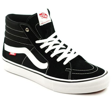 Vans Sk8 High Black White Waffle Dt vans sk8 hi pro black white forty two skateboard shop