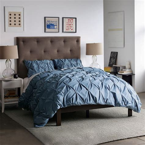 west elm diamond tufted headboard home dzine bedrooms add impact to your bedroom with a