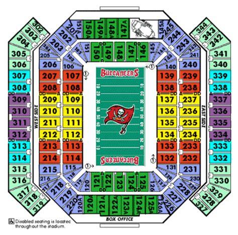 ta buccaneers stadium seating nfl football stadiums ta bay buccaneers stadium