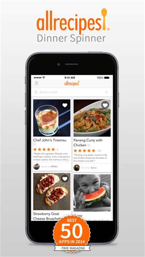 dinner app dinnerspinner app review and a recipe for panzanella salad