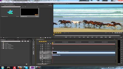 adobe premiere pro how to cut a clip adobe premiere tutorial how to cut video and audio clips