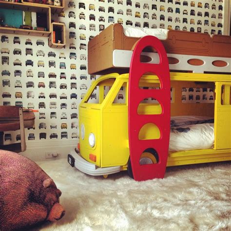 Theme Bunk Beds 17 Best Images About Vw Bay Cer Theme Bed On Home Childrens Beds And Vw Cer