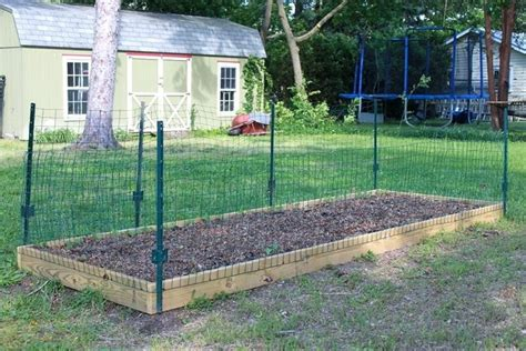 vegetable garden fence panels hawk haven