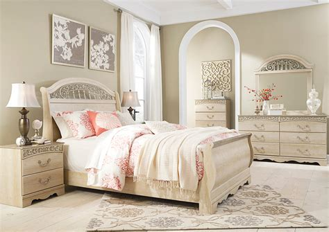 white sleigh bed queen best buy furniture and mattress catalina antique white