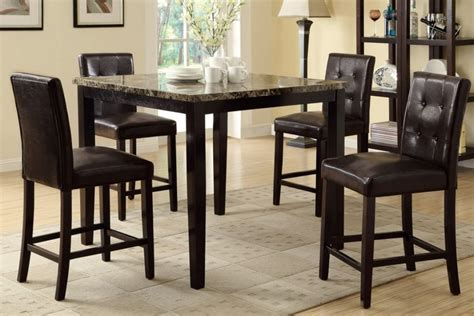 Dining Table Size For 4 Engaging Counter Height Dining Table And High Chairs By 4 Chair Dining Table Inspiration 4 Chair