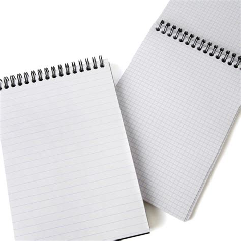 Mood Color Spiral Ruled Notepad rhodia top spiral bound no 16 notepad 6 x 8 25 eco