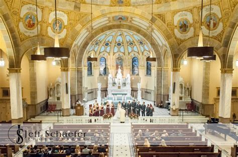 wedding at Holy Family Church Cincinnati, Carol Ann