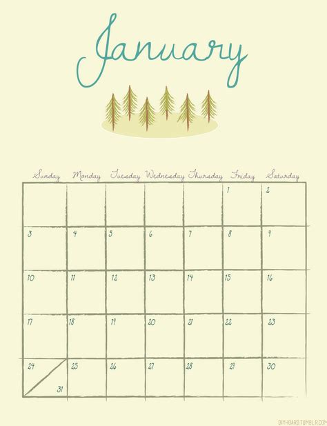printable calendar tumblr printable calendar 2016 tumblr