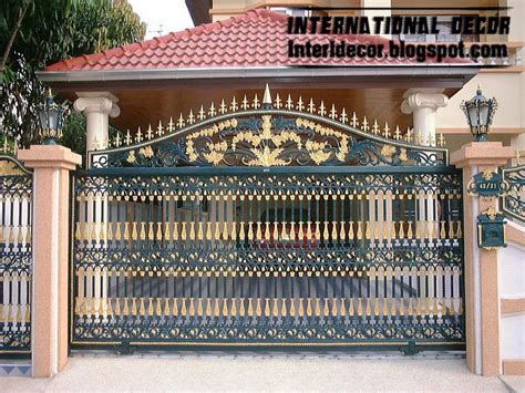 modern sliding iron gate designs uk sliding iron gates