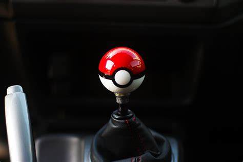 Pokeball Gear Shift Knob by Poke Gear Shift Knob M10x1 5 Honda Acura