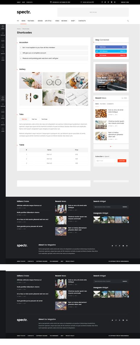 newspaper theme responsive spectr responsive news and magazine wordpress theme by