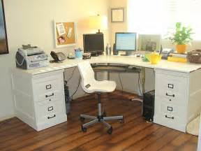 File Cabinet Desk Diy Home Office How To Design A Green Office Space In Your Home Laurieflower