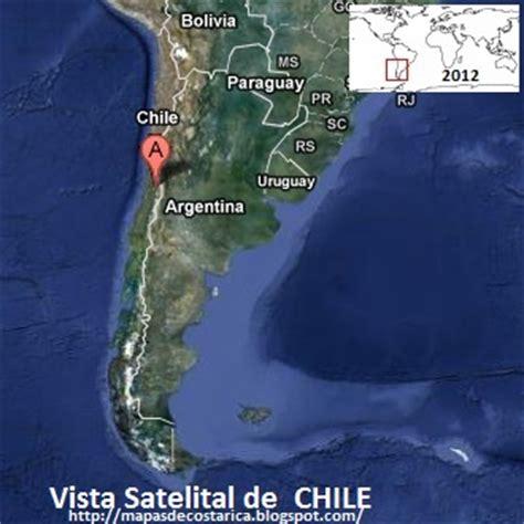 imagenes satelitales chile chile vista satelital de google maps