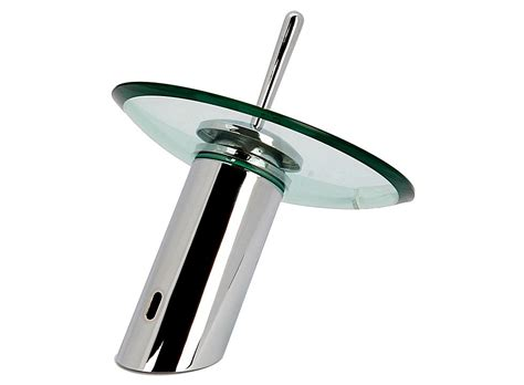 Glass Faucets by Glass Waterfall Kitchen Bathroom Sink Faucet 13007145 Buy