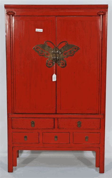 chinese armoire antique asian furniture antique chinese red lacquered
