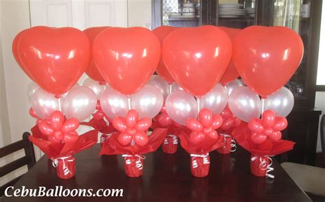 balloon centerpieces for tables cebu balloons and party