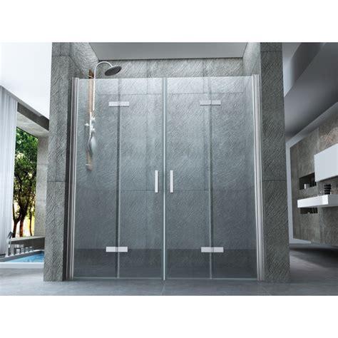 porte apertura a libro doppia porta per doccia a nicchia quot venezia quot apertura a libro