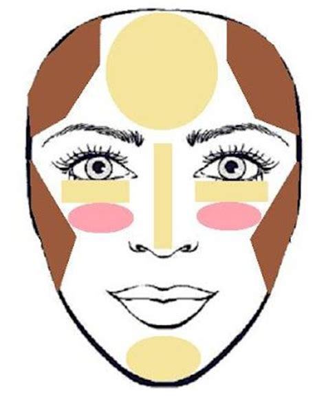 inverted triangle face shape 1000 images about anisa gizela 180 s contour and highlight