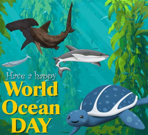 world ocean day cards  world ocean day wishes