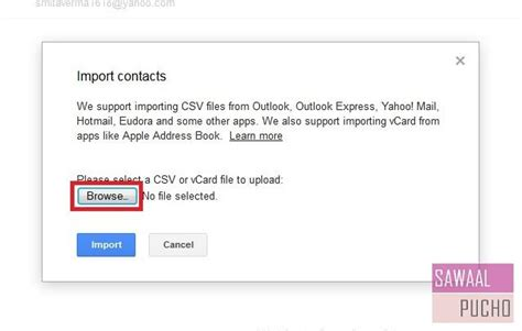 csv format for yahoo contact import two ways to import contacts from yahoo to gmail with