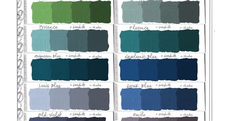 colorways sloan chalk paint swatch book part 2 shades