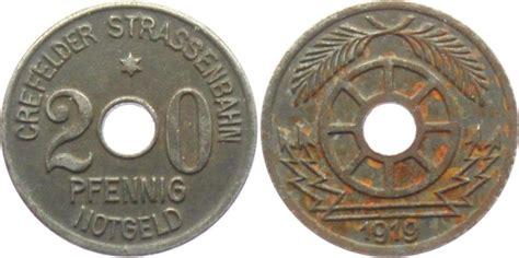 can möbel krefeld 20 pfennig 1919 crefeld krefeld privates notgeld crefeld