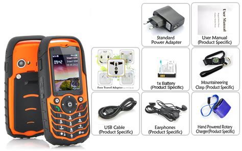 rugged design rugged design phone fortis ip67 waterproof band gsm dual sim orange ebay