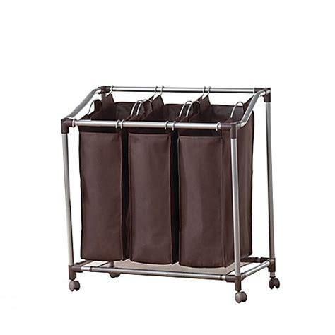 Neatfreak 174 Deluxe Everfresh 174 Triple Laundry Sorter Bed Laundry Separator