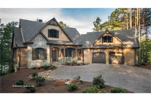 craftsman style ranch with walkout basement hwbdo77120