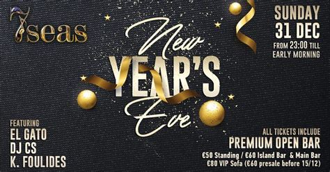 new year 2018 events california new years 2018 at 7seas my guide cyprus