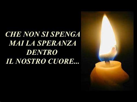candela della speranza le quattro candele