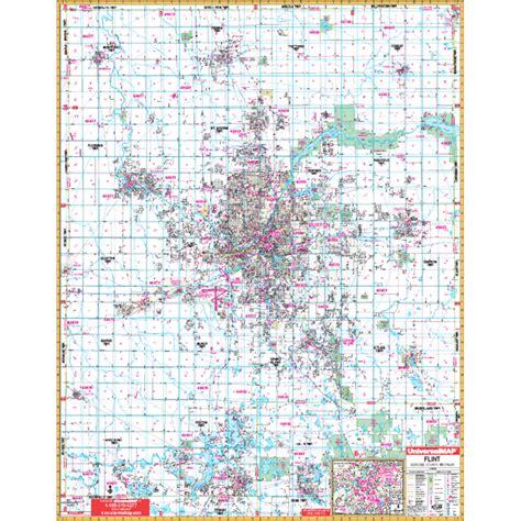 where is flint on map flint zip code map