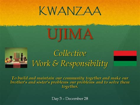 kwanzaa 2014 ujima collective work and responsibility