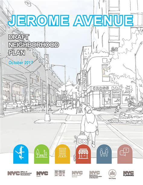 neighborhood plans jerome avenue neighborhood plan