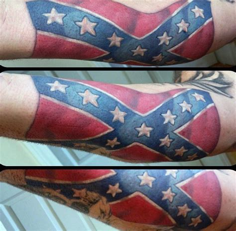 rebel flag tattoos for men 30 rebel flag tattoos for american revelry design ideas