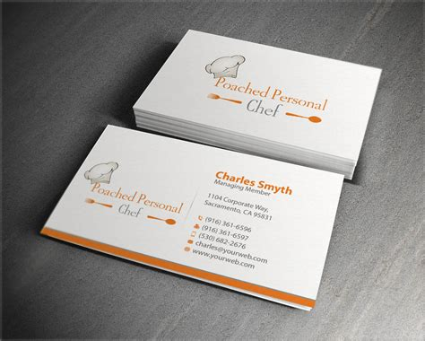 Pered Chef Business Card Template