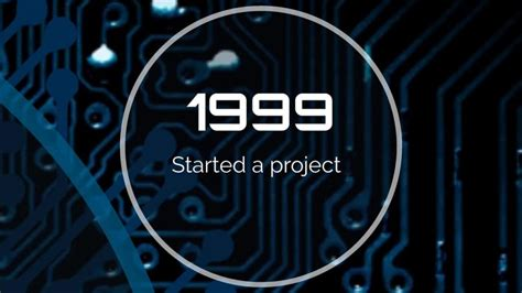 Idea Processor Chip Presentation Template Prezibase Intel Ppt Template
