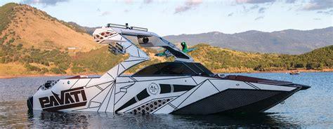 boat wake pavati wake boats aluminum wakeboarding surf boats