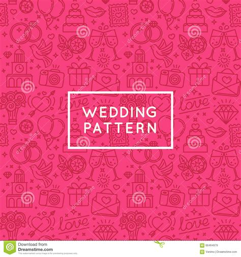 vector pattern for wedding invitation vector seamless pattern and background for wedding