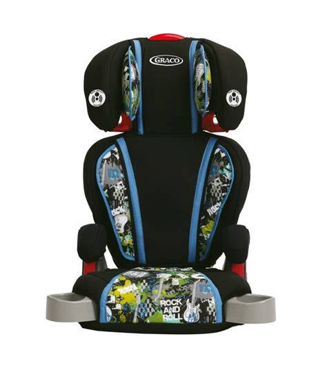 graco turbo booster seat safety rating graco highback turbobooster car seat rockout