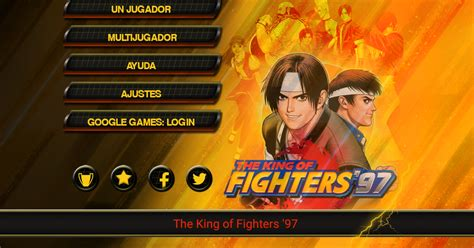 kof 12 apk android juegos the king of fighters 97 v1 4 apk datos