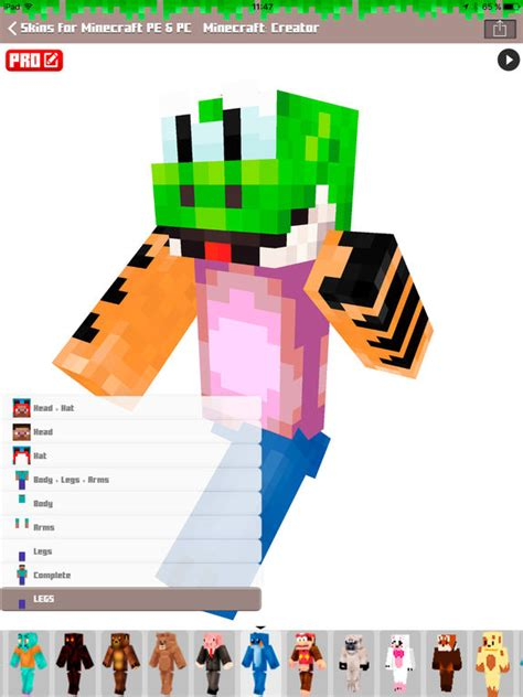 Merries Skin L 44 S 2 Pcs 1 skins for minecraft pe pc free skins app voor iphone en ipod touch appwereld