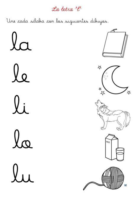 fichas letras con pictogramas letra fichas letras d y l