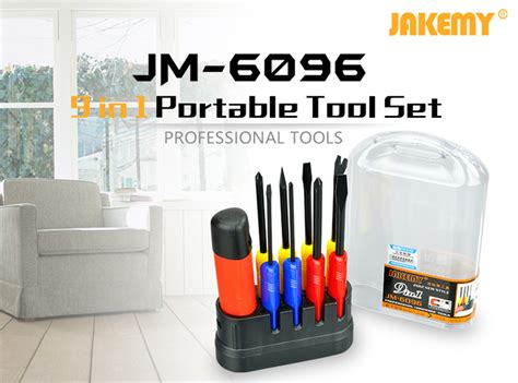 Jakemy 54 In 1 Computer Tool Kit Model Jm 8126 jakemy jm 6096 9in1 screwdriver kit